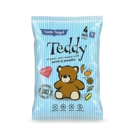 BIO snack Little Angel TEDDY 4x15g