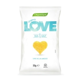 BIO snack LOVE Sea salt 50g