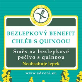 ADVENI Chléb s quinoou BENEFIT 500g