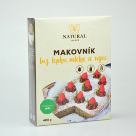 NATURAL Makovník 400g